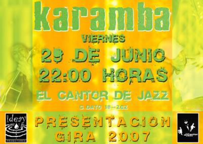 KARAMBA EN CONCIERTO PRESENTACIÓN 07