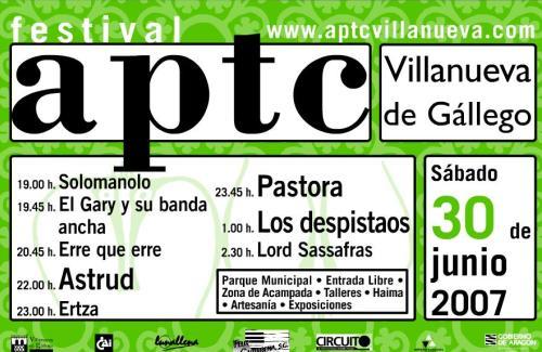 FESTIVAL APTC.-Villanueva de Gallego (Zaragoza)