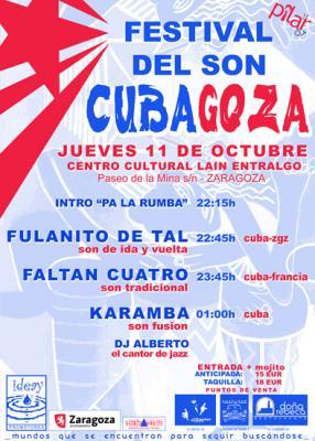 """FESTIVAL DEL SON """"CUBAGOZA"""""""