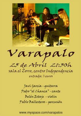 VARAPALO EN CONCIERTO.-Zaragoza